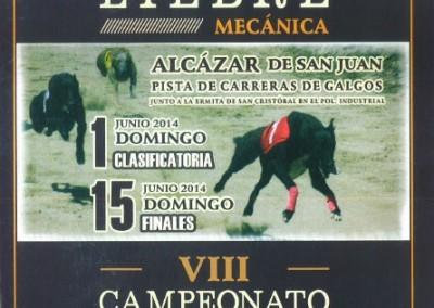 2014 Campeonato de España de Liebre Mecánica