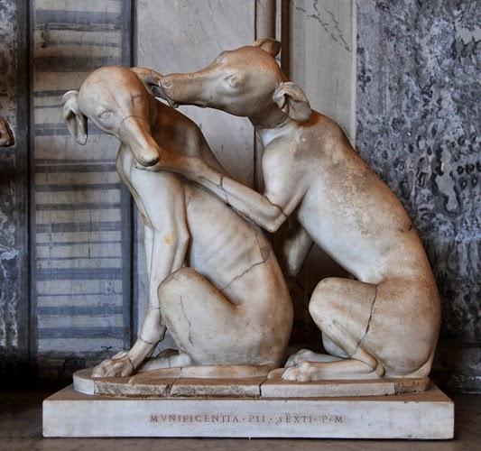 galgos escultura romana