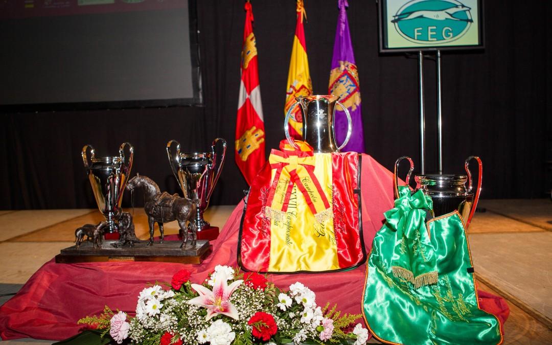 PRESENTACIÓN Y SORTEO DEL LXXX CAMPEONATO DE ESPAÑA DE GALGOS EN CAMPO.