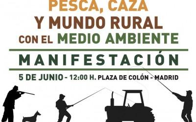 Únete a la manifestación del 5 de junio