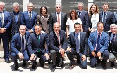 El presidente de la FEG D. Luís Ángel Vegas Herrera, elegido vocal del Comité ejecutivo del COE