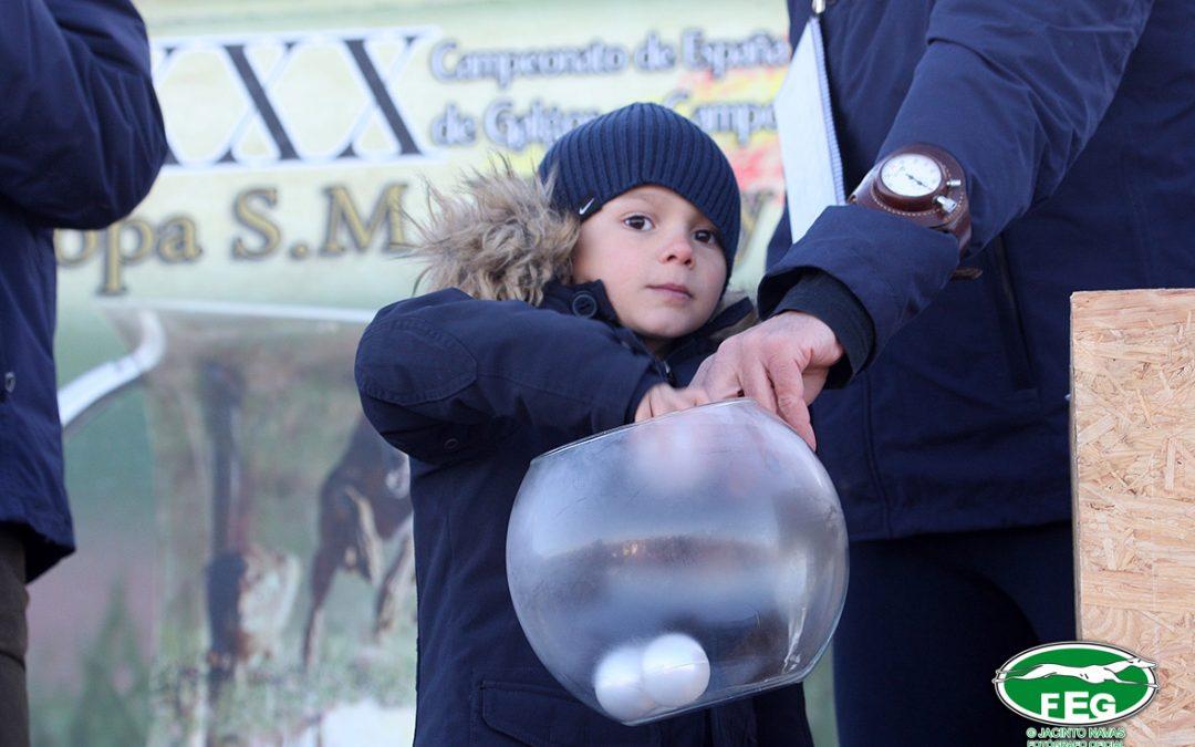 SORTEO DE OCTAVOS DE FINAL DEL LXXXI CTO. DE ESPAÑA DE GALGOS EN CAMPO