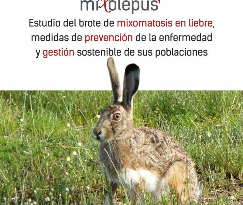 El grupo MIXOlepus avanza en el conocimiento de la mixomatosis en las liebres y en estrategias para su control