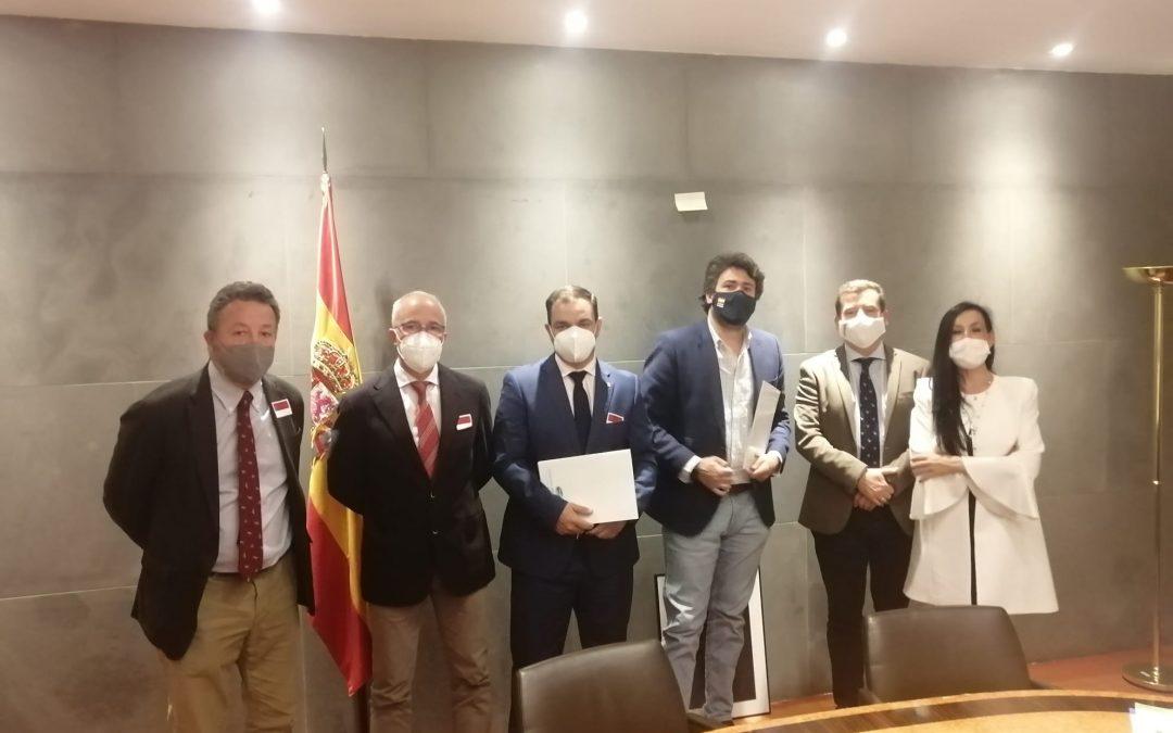 Reunión de la FEG con el Grupo Parlamentario Vox