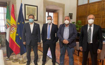 Reunión con el presidente de la Junta de Extremadura D. Guillermo Fernandez Vara